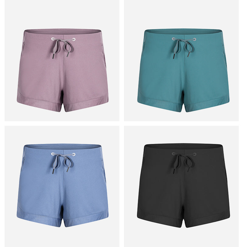 womens workout shorts with pockets