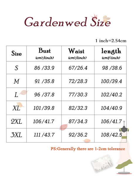 Size Chart Lace Dress Short Bridesmaid Dress Party Dress Homecoming Dress | Gardenwed