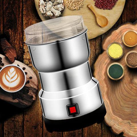 Râșniță, oțel inoxidabil 304, râșniță de cafea, râșniță de condimente, râșniță de fasole, râșniță de nuci, râșniță electrică,