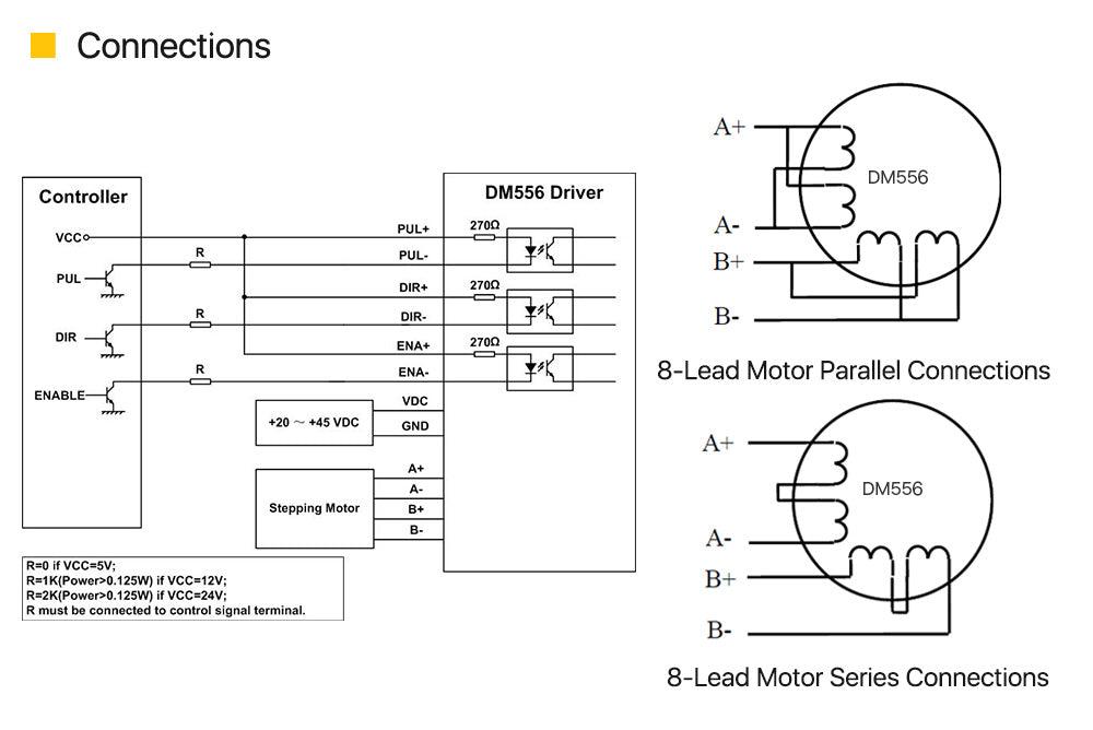 2-Phase Stepper Motor Driver