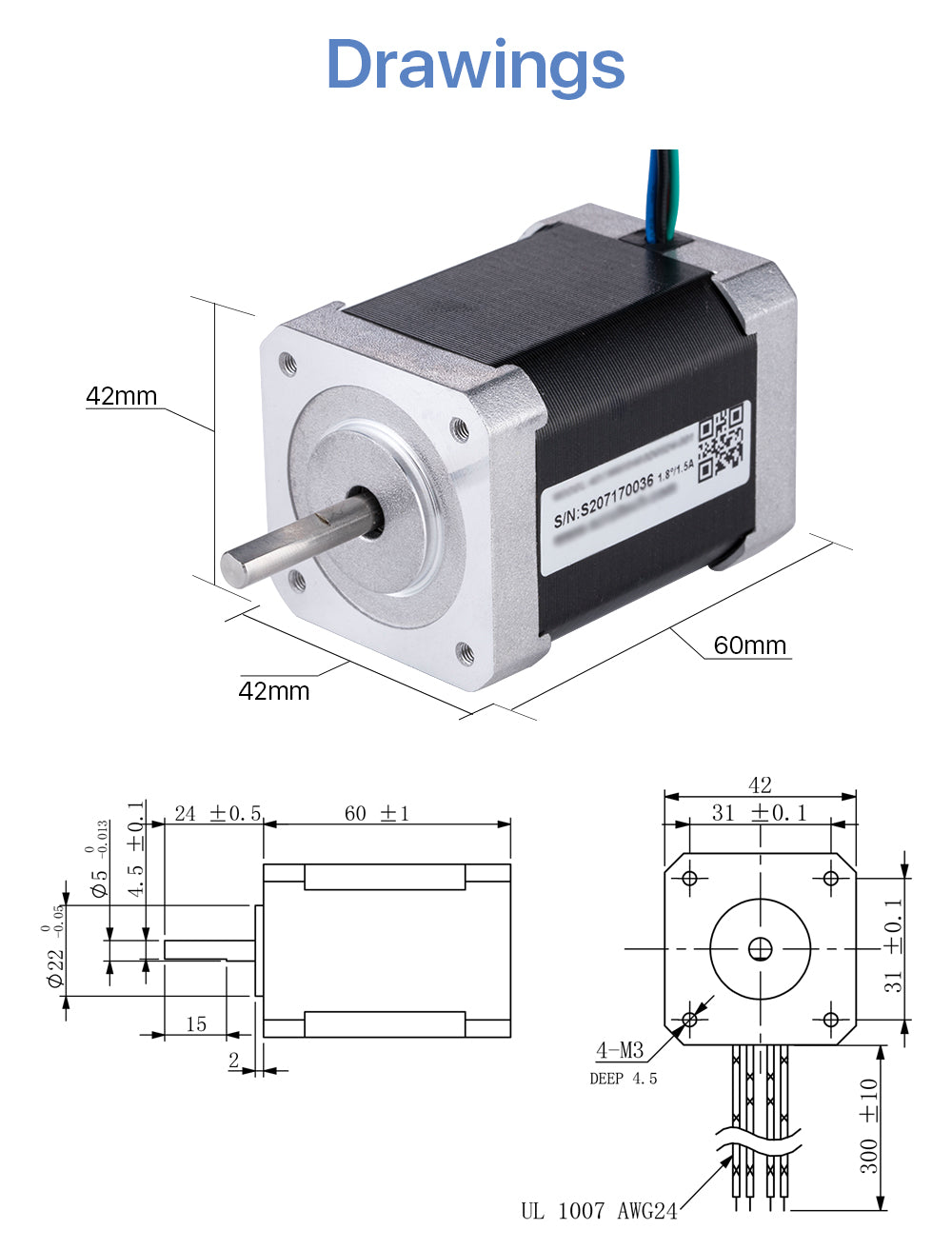 stepper motor for cutting plotter