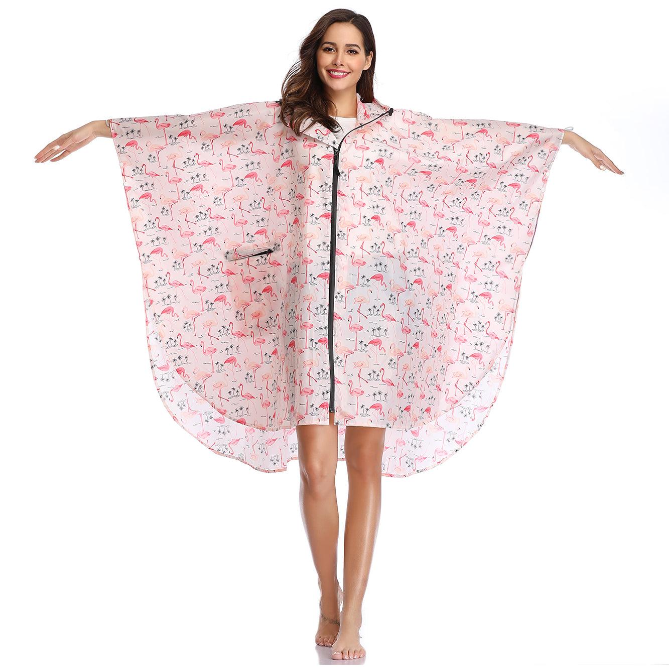 Flamingo raincoats