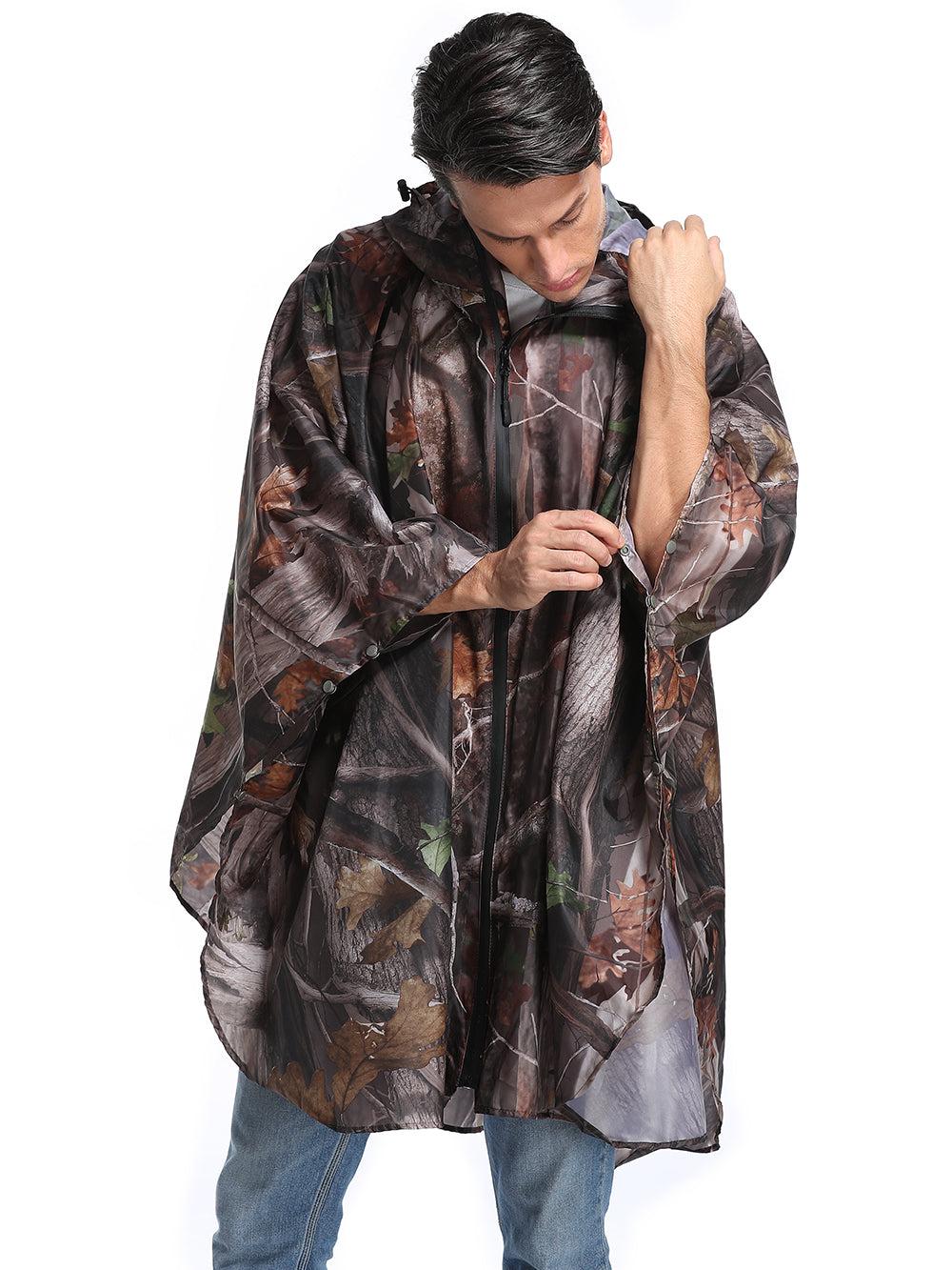buttons sleeve raincoat