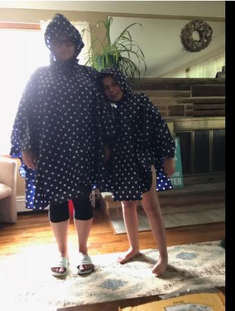 family rain poncho