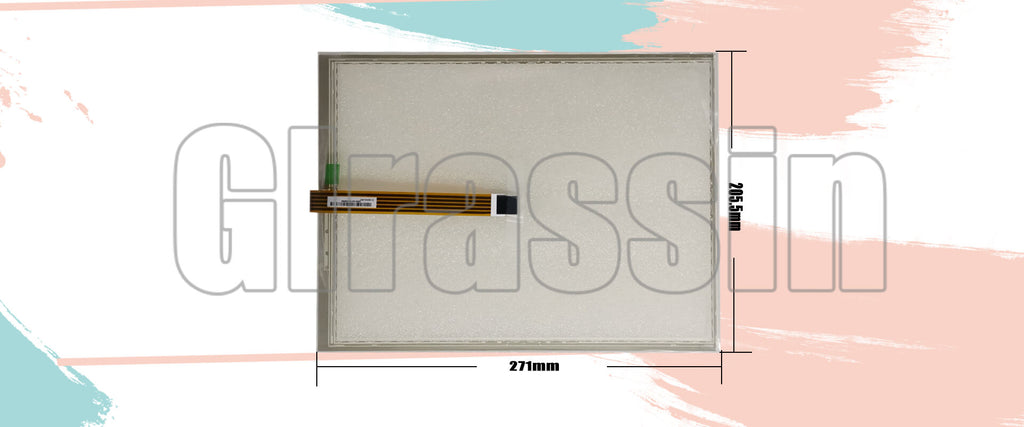 Original Touch Screen 12.1 INCH for AMT2514 Replacement