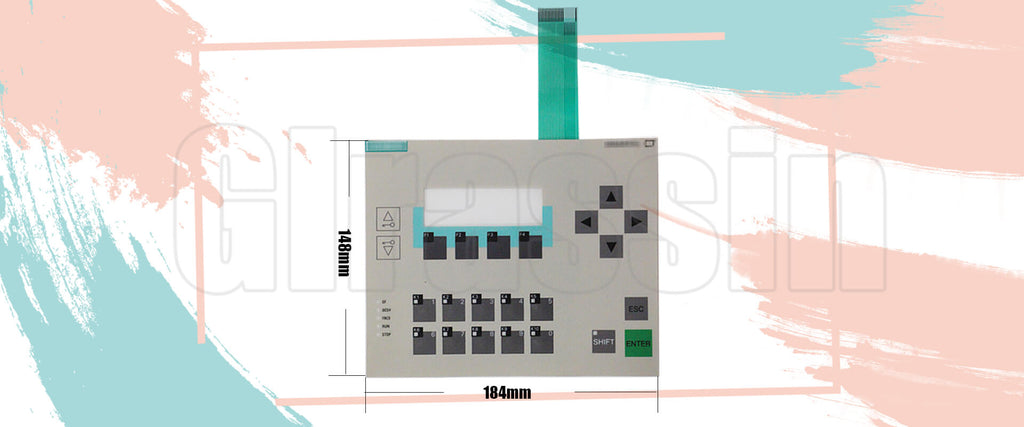 Membrane Keyboard for Siemens SIMATIC HMI C7-613