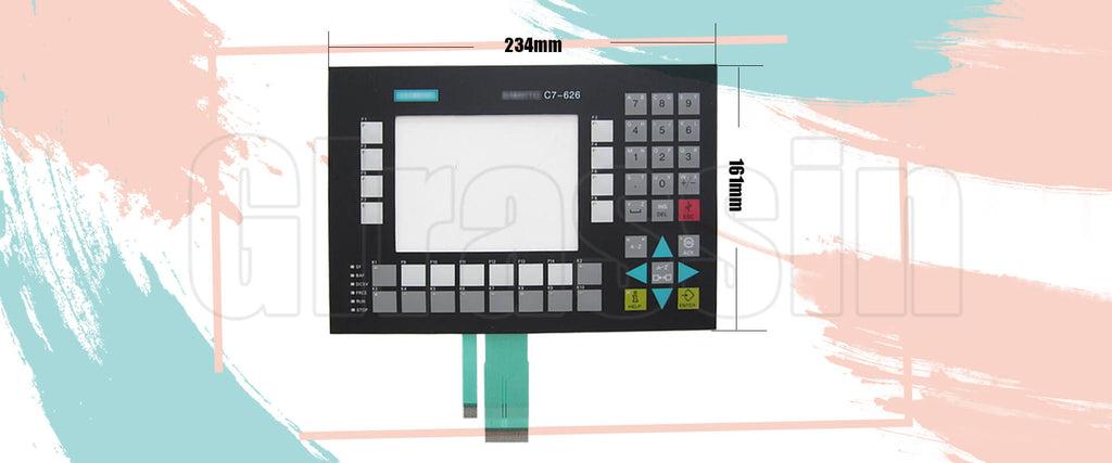 Membrane Keypad for Siemens SIMATIC HMI C7-626