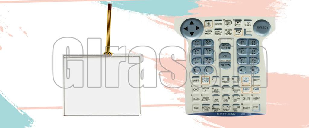 Touch Screen for Yaskawa motoman DX100 Teach Pendant