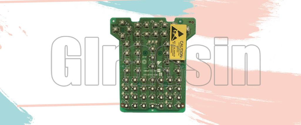 Keyboard for Yaskawa motoman DX200 Teach Pendant Replacement