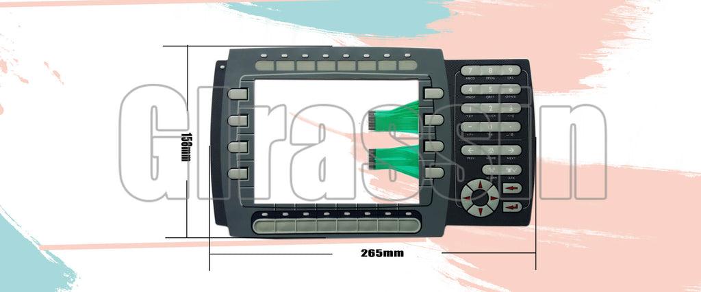 Membrane Keyboard for Beijer HMI E1070 603221118 Repair Replacement