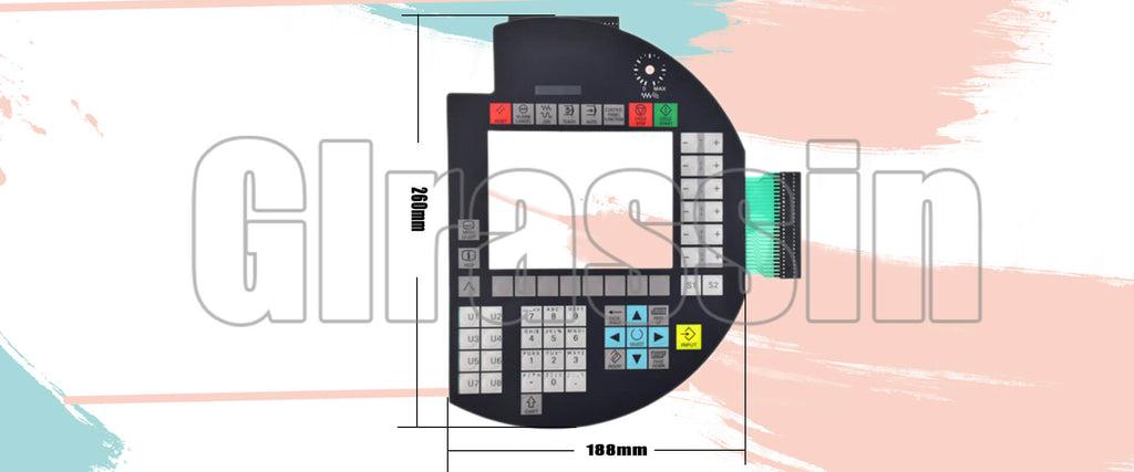 Membrane Keyboard for SINUMERIK Handheld Terminal HT 6 Repair