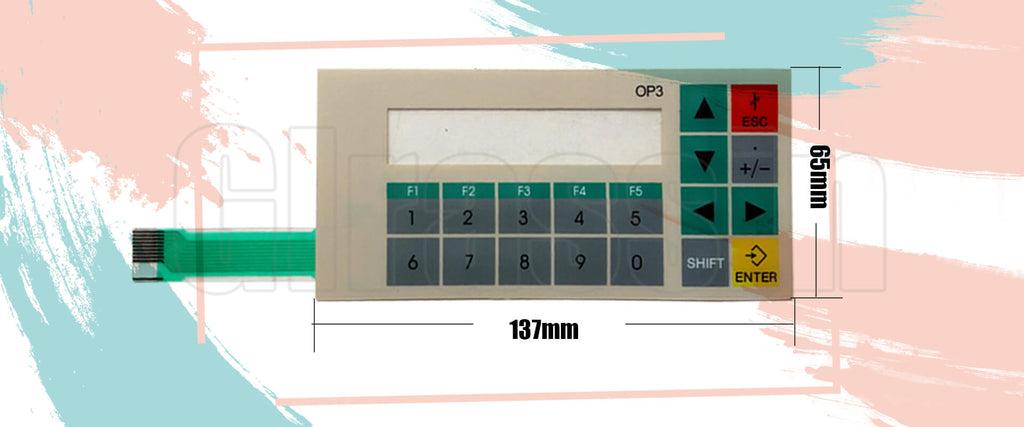 Membrane Keypad for Siemens SIMATIC OP3 HMI Replacement