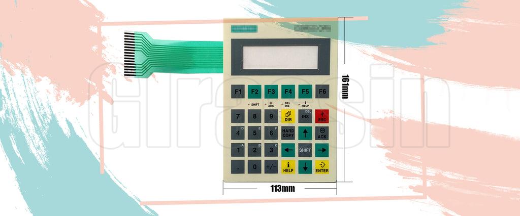Membrane Keypad for Siemens SIMATIC OP5 HMI Replacement
