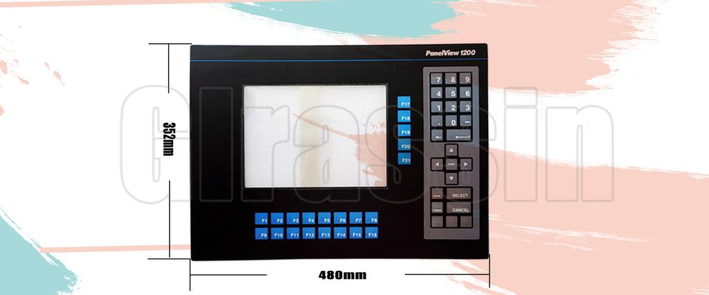 Membrane keboard for Panelview 1200 2711-KA1 Keypad repair Replacement