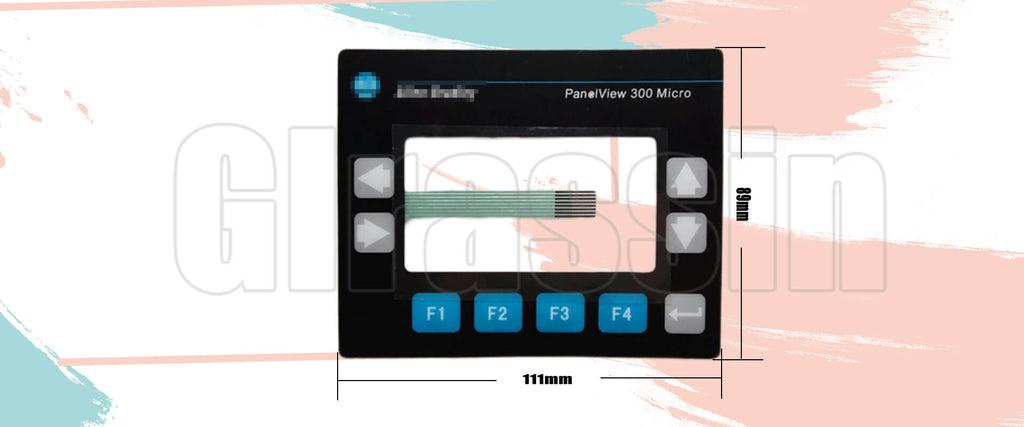 Membrane Keyborad for Allen Bradley HMI PanelView 300 Micro Replacement