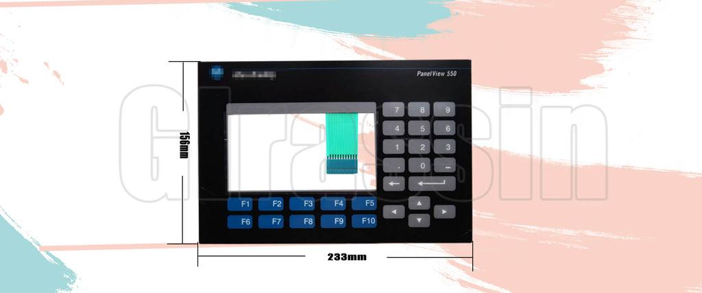 Membrane board for Allen Bradley Panelview 550 2711-K5 Keypad Interface Replacement