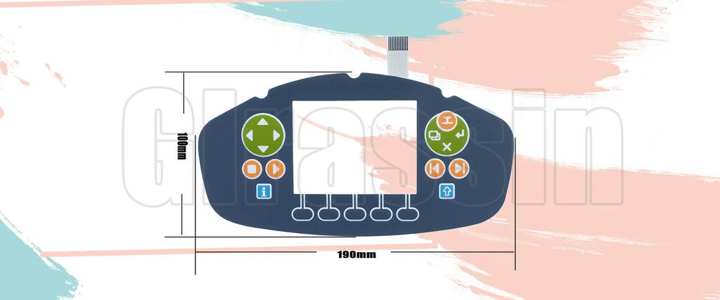 Keypad for ABB IRC5P 3HNA024941-001 Paint Teach Pendant