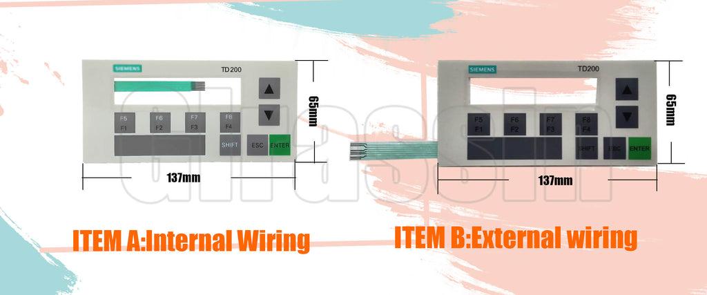 Membrane Keypad for Siemens SIMATIC HMI TD 200