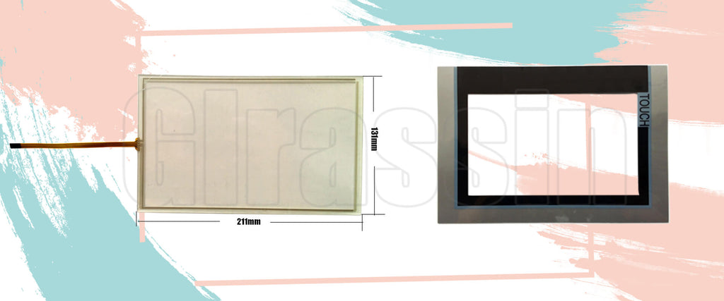 Touch Screen and Protective 9 INCH for Siemens SIMATIC TP900 Panel Repair