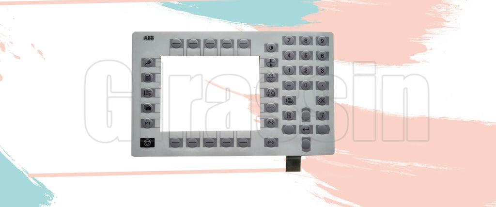 Membrane Keypad for ABB TPU3-EX 3HNA010906-001 Teach Pendant