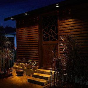 Solar Powered Gutter Lights