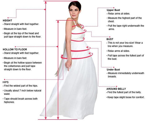 Pregnant woman measure guide