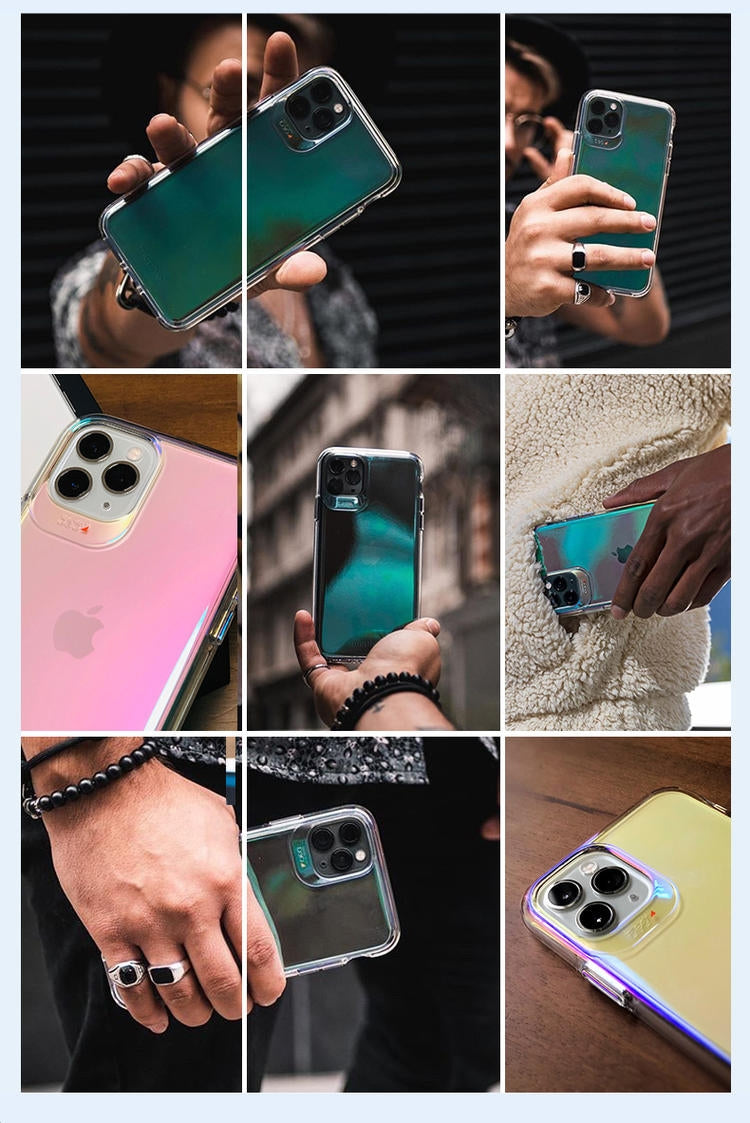 mophie Crystal Palace Iridescent D3O Ultimate Impact Protection Case Cover
