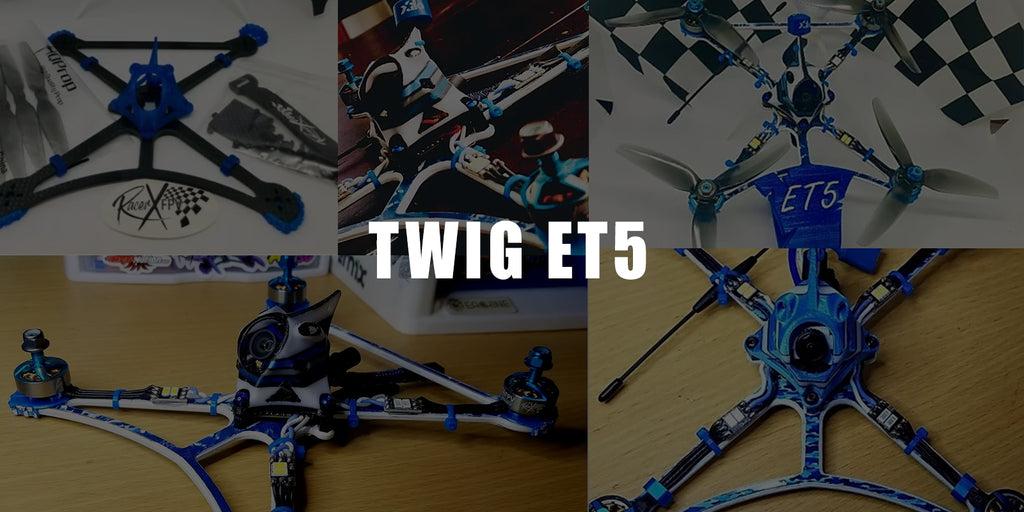 "Drones.bg Рамка за рейсинг дрон TWIG ET5 5"""