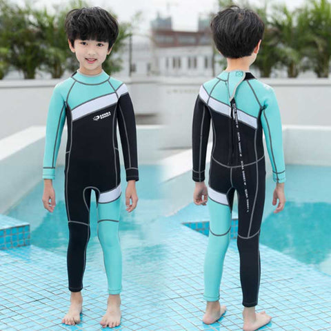HISEA Children's 2.5mm Full Length Wetsuit
