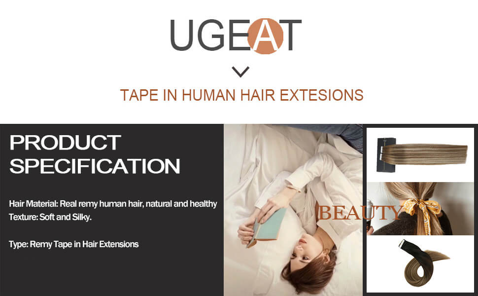 ugeat tape in human hair extensions