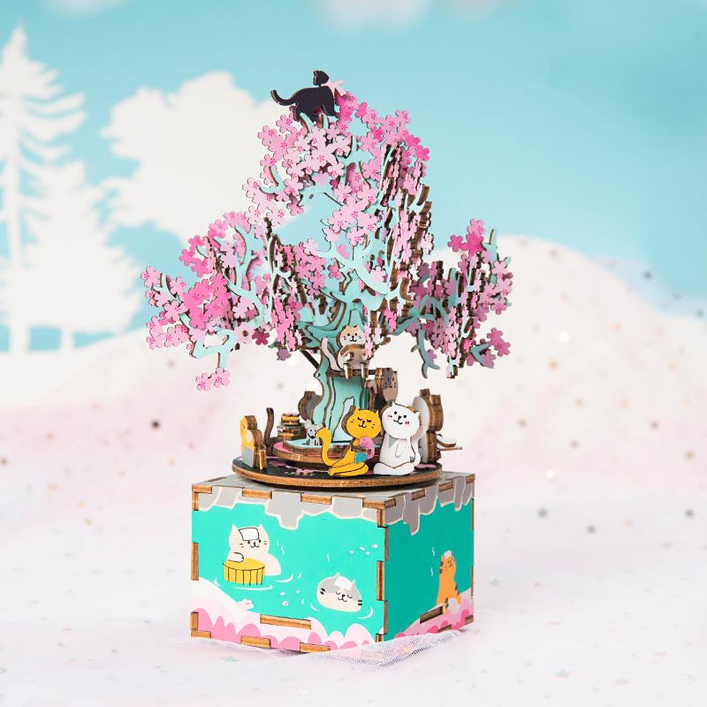 DIY music box AM408 Cherry Blossom Tree