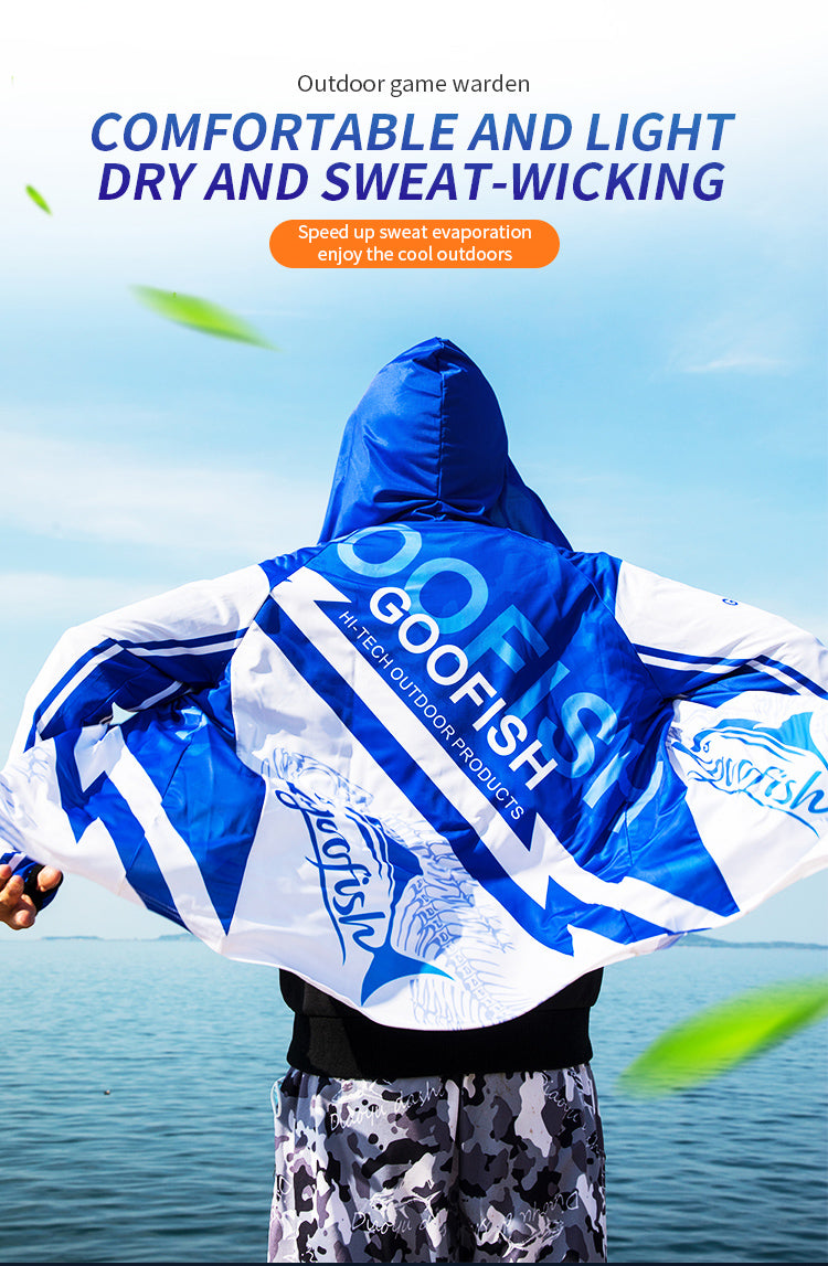 goofish fishing cloth fishing suit fishing tshirt