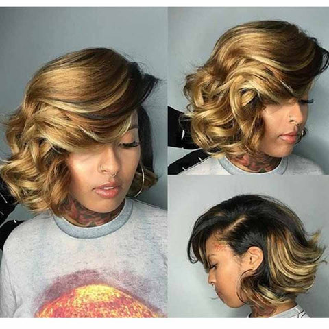 loose wave pixie cut for black women