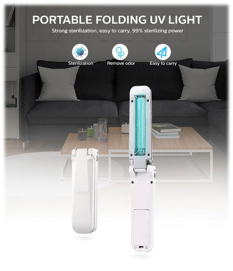 UV sterilizing lamp UVC wand light